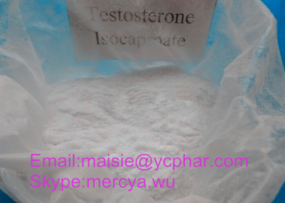 Natural Bodybuilder Testosterone Steroid Hormone 15262-86-9 Testosterone Isocaproate / Test Iso