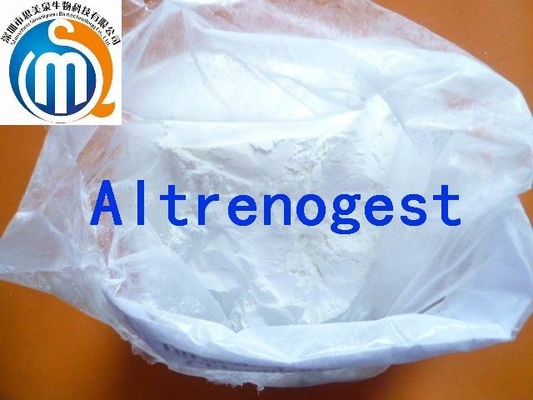 China Altrenogest Progesterone Hormones Powder of Slightly yellow powderon sales