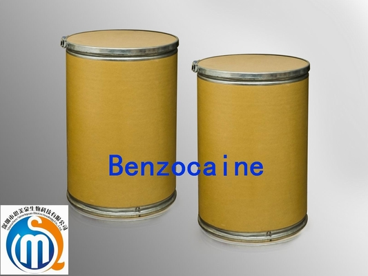 China natural Herbal Extract Local Anesthetic Drugs Benzocaine CAS 94-09-7on sales